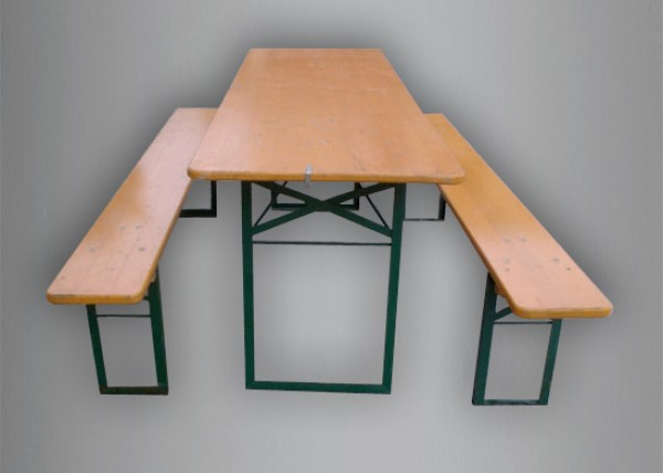 Panca e tavolo per esterni noleggio tavoli cortona arezzo solfanelli - Panca e tavolo cucina ...