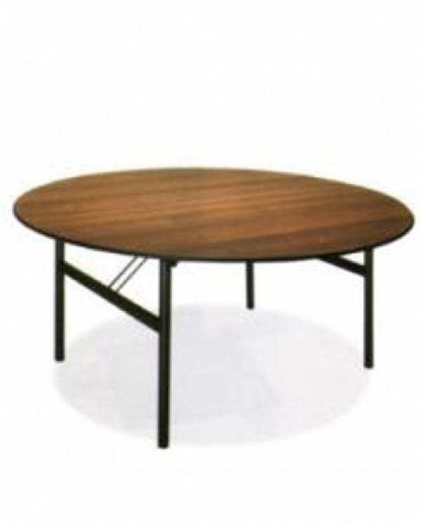 Tavolo tondo per catering noleggio tavoli cortona arezzo solfanelli - Dimensioni tavolo tondo 4 persone ...